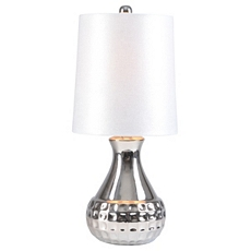White Sparkle Mini Table Lamp at Kirkland's