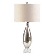 Mercury Glass Table Lamp at Kirkland's