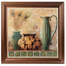 Feathers & Vessels Framed Art Print at Kirkland's