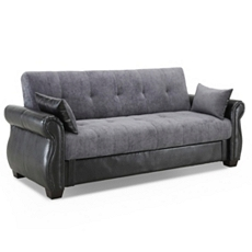 Daria Serta Gray Convertible Sofa at Kirkland's