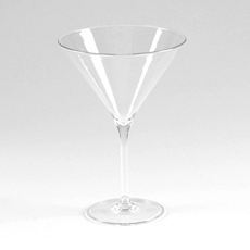 Clear Merona Shatterproof Martini Glass at Kirkland's