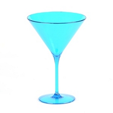 Aqua Merona Shatterproof Martini Glass at Kirkland's