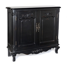 Felicity Black Cabinet at Kirkland's