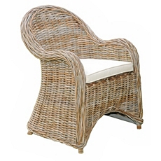 Isola Wicker Arm Chair at Kirkland's