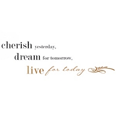 Live For Today Wall Decal at Kirkland's