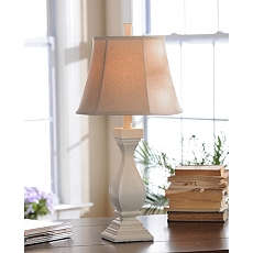 Katie Ivory Table Lamp at Kirkland's