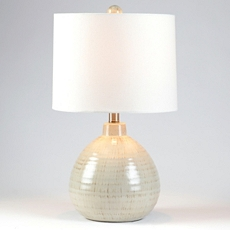 Gray Ceramic Pot Table Lamp at Kirkland's