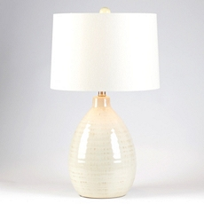 Giselle Ivory Ceramic Table Lamp at Kirkland's