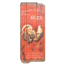 Farm Fresh Eggs Wall Plaque at Kirkland's
