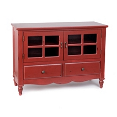 Adella Red Cabinet at Kirkland's