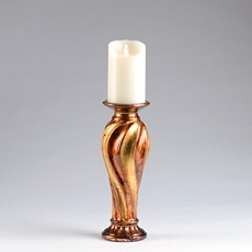 Gold & Bronze Candle Holder, 12 in. at Kirkland's