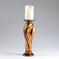 Gold & Bronze Candle Holder, 14 in. at Kirkland's