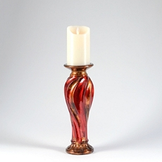 Red & Bronze Candle Holder, 12 in. at Kirkland's