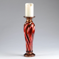 Red & Bronze Candle Holder, 16 in. at Kirkland's
