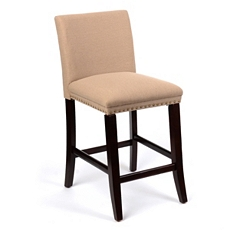 Natural Linen Bar Stool at Kirkland's