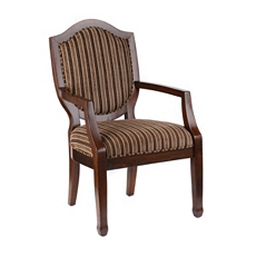 Abbot Striped Arm Chair at Kirkland's