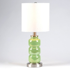 3-Tier Green Table Lamp at Kirkland's