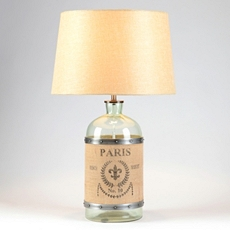 Paris Glass Jar Table Lamp at Kirkland's