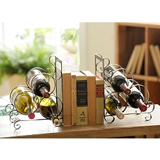 Jameson Bookend Wine Rack, Set of 2 at Kirkland's