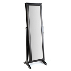 Black Cheval Armoire Mirror at Kirkland's