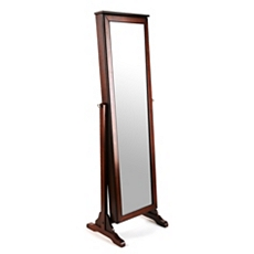 Cherry Cheval Armoire Mirror at Kirkland's