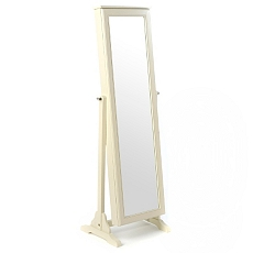 Antique White Cheval Armoire Mirror at Kirkland's