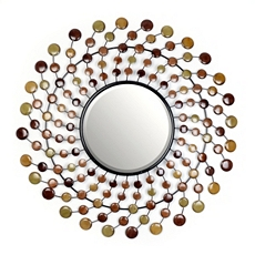Mini-Circle Sunburst Wall Mirror, 35 in. at Kirkland's