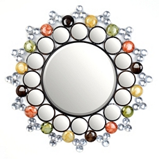 Jeweled Starburst Wall Mirror, 29 in. at Kirkland's