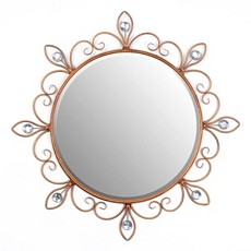 Golden Scroll Wall Mirror, 29 in. at Kirkland's