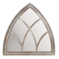 Bishop Wood Wall Mirror, 40x40 at Kirkland's