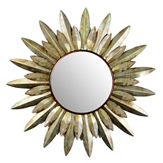 Sunburst Flower Wall Mirror, 38 in. at Kirkland's
