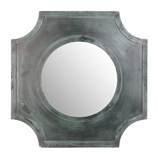 Sarai Wood Wall Mirror, 31x31 at Kirkland's