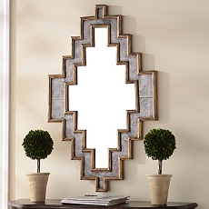 Jagged Edge Wall Mirror, 26x42 at Kirkland's