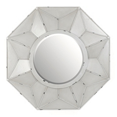 Burlington Gray Wall Mirror, 32x32 at Kirkland's