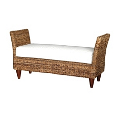 Francis Wicker Bench at Kirkland's