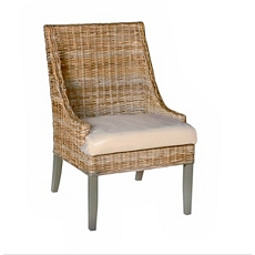 Seabrook Wicker Accent Chair at Kirkland's