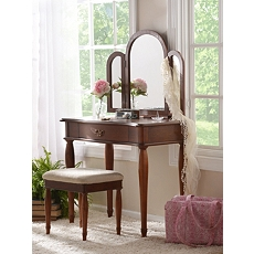 Eleanora Vanity with Stool at Kirkland's