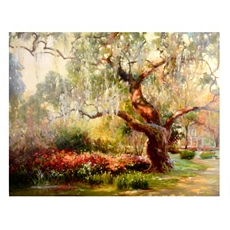 Pathway To The Garden Canvas Art Print at Kirkland's