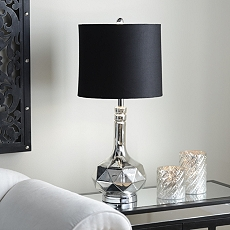 Silver Plated Table Lamp at Kirkland's