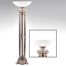 Wakefield Antique Silver Torchiere at Kirkland's