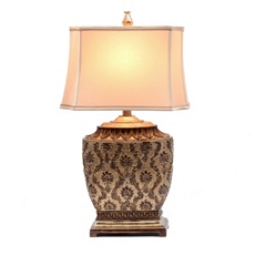 Barbados Bronze Table Lamp at Kirkland's