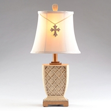 Old Cross Ivory Table Lamp at Kirkland's