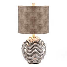 Silver Wave Table Lamp at Kirkland's