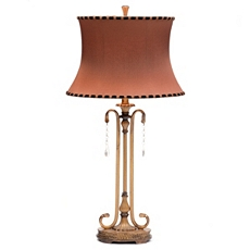 Sienna Gold Jeweled Table Lamp at Kirkland's