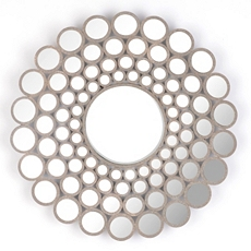 Concave Circles Wall Mirror, 31 in. at Kirkland's