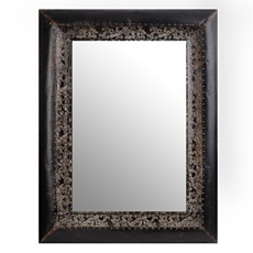 Stone Metal Wall Mirror, 37x49 at Kirkland's