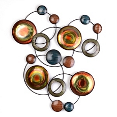 Abstract Orbits Metal Wall Art at Kirkland's