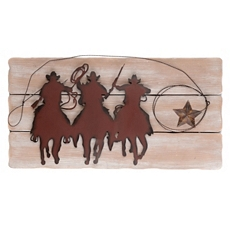 Countryline Metal & Wood Wall Plaque at Kirkland's