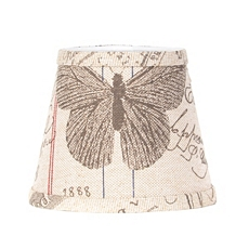 Antique Butterfly Print Chandelier Shade at Kirkland's