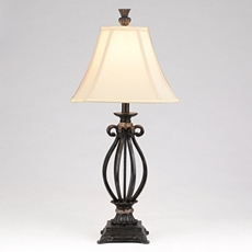 Iron & Marble Table Lamp at Kirkland's